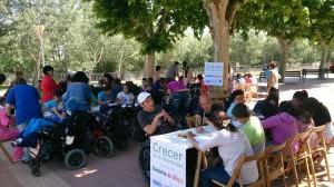 Participantes Crecer en la diversidad 2014