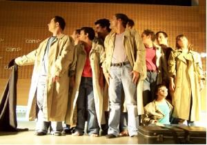 Escena obra de teatro