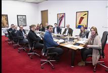 parlamentarios de la mesa del Parlamento