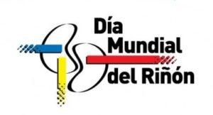 "logo ""Día Mundial del Riñón"""