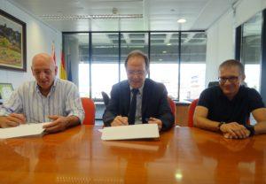 José Luis Herrera, Luis Gabilondo y Francisco Fernández
