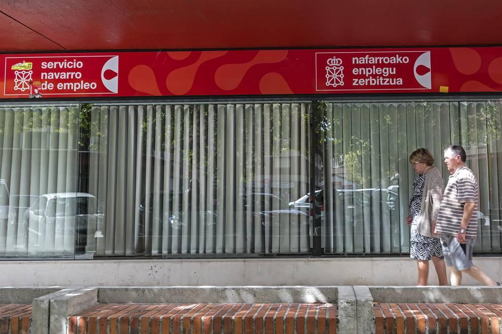 Imagen de una oficina del Servicio Navarro de Empleo
