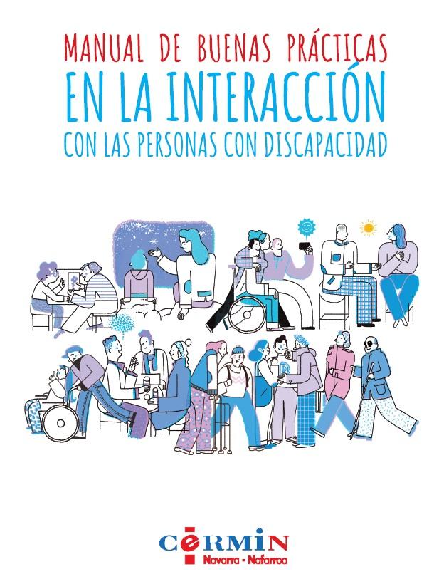 """Portada """"Manual de Buenas Prácticas en la Interacción con las Personas con Discapacidad"""""""