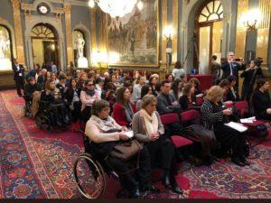 Imagen de asistentes público a la Conferencia