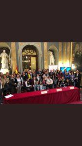 Foto de grupo de asistentes a la II Conferencia