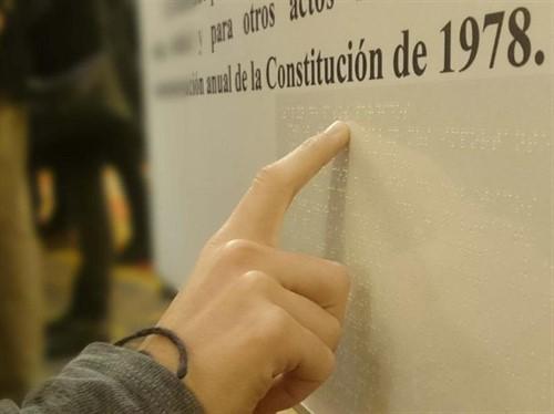 Imagen alusiva a la Constitución de 1978
