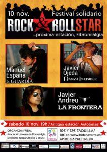 Imagen del cartel del concierto