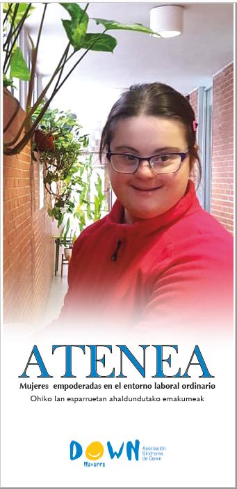 Imagen de una participante del proyecto ATENEA