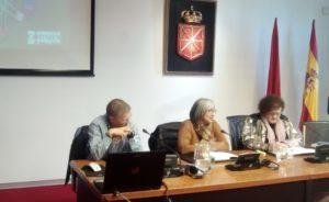 imagen de una comparecencia parlamentaria en la Comisión de Salud