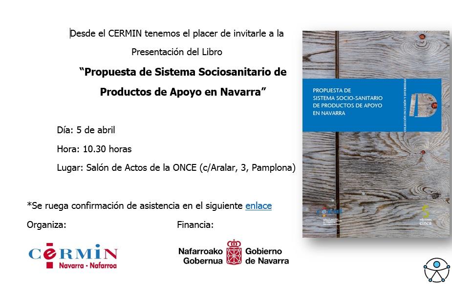 imagen de la invitación a asistir al libro en castellano
