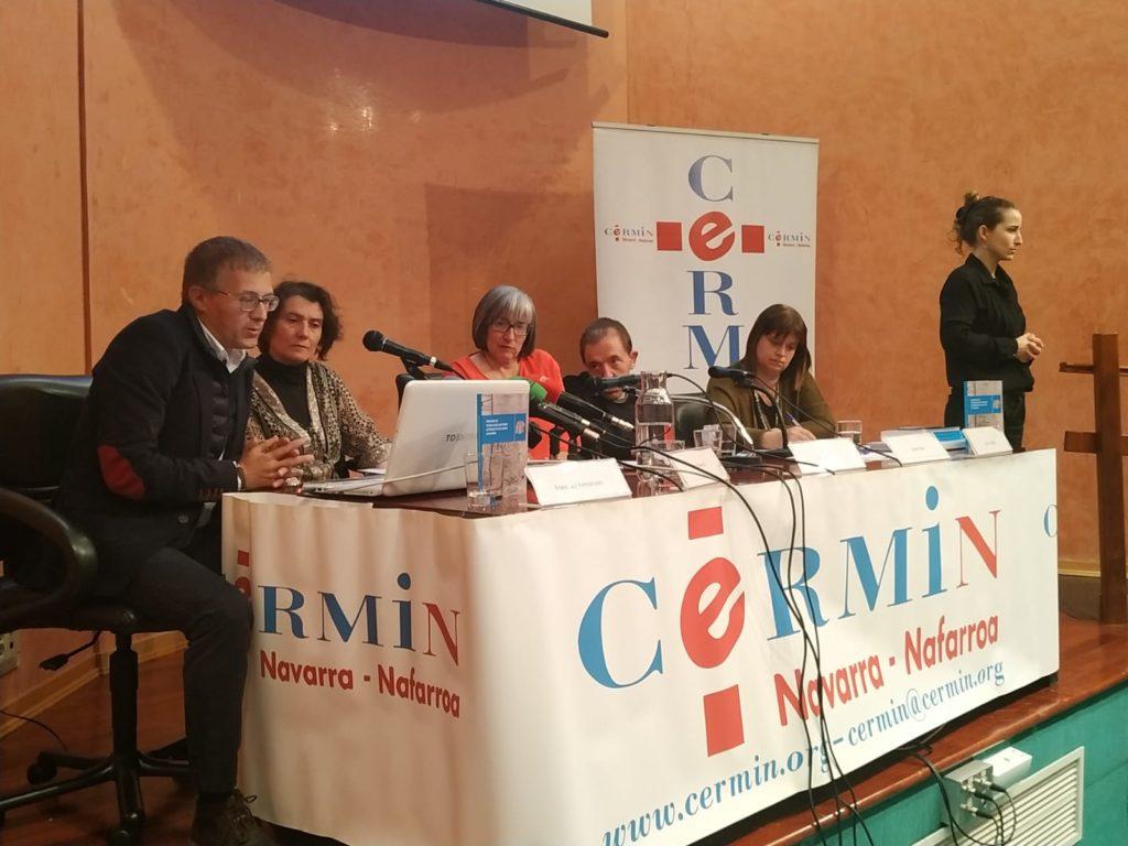De izquierda a derecha: Francisco Fernández, Inés Francés, Mariluz Sanz, David Sanz y Sonia Ibáñez