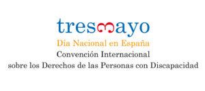 Logo alusivo al 3 de mayo