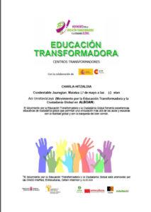 Imagen del cartel de la charla