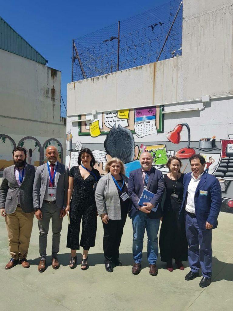 Foto de los ponentes de la presentación