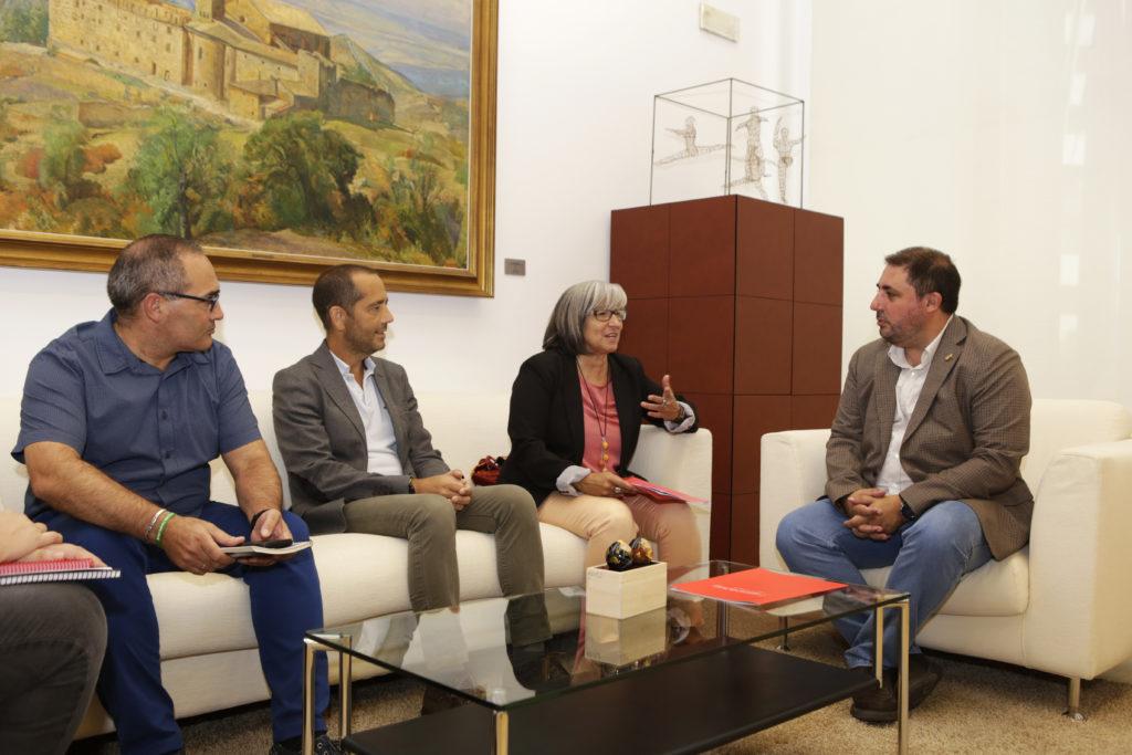 José Antonio Delgado, Manuel Arello, Mariluz Sanz, Unai Hualde