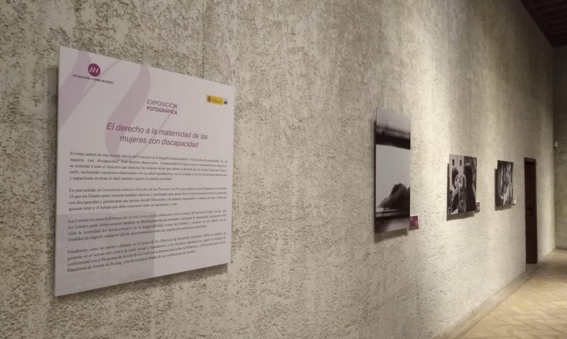 Imagen de parte de las fotografías de la exposición