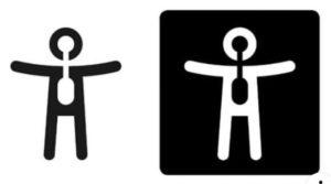 Imagen del logo de la discapacidad orgánica