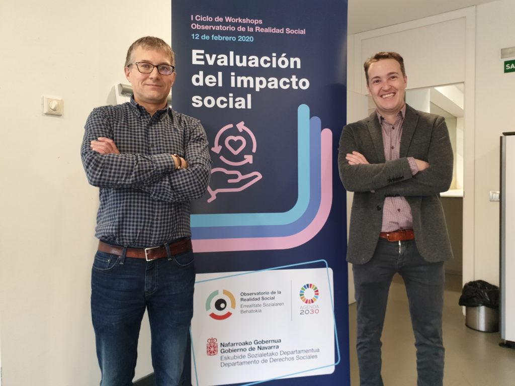 El gerente de Adacen, Francisco  Fernández  Nistal,  y el  director general del Observatorio, Luis Campos.