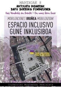 Imagen del cartel del espacio inclusivo