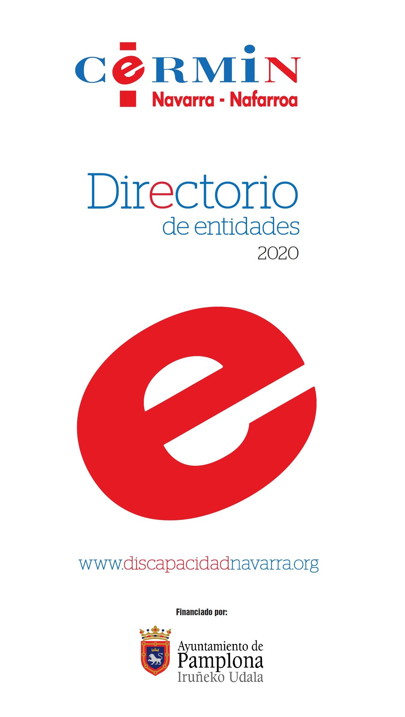 Directorio de entidades 2020. Formato PDF