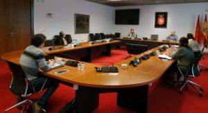 Imagen de un momento de la reunión