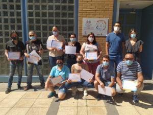 Foto de grupo de los participantes en el curso