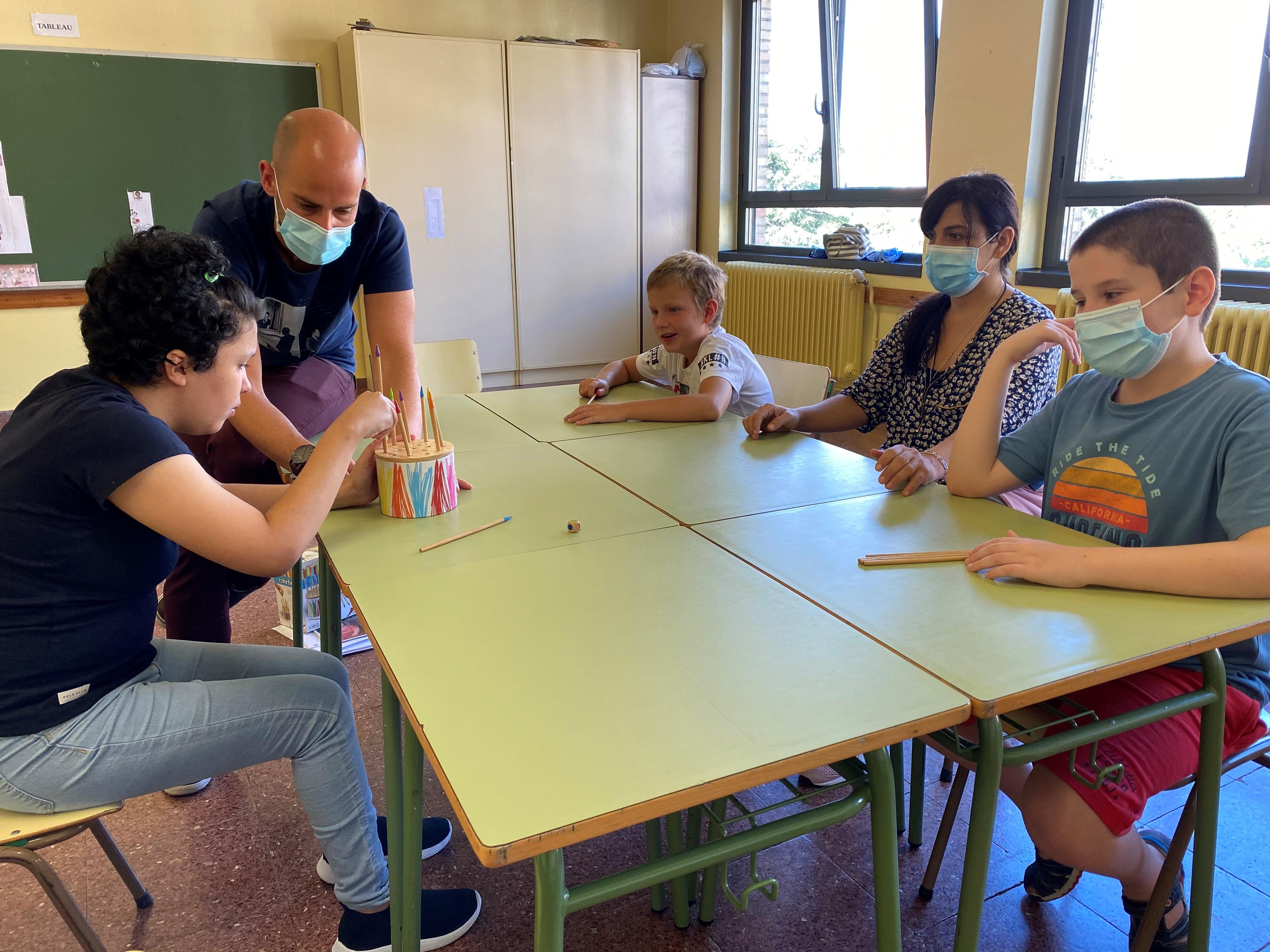 Fotografía de una de las actividades realizadas en la Escuela de Verano de ANA.