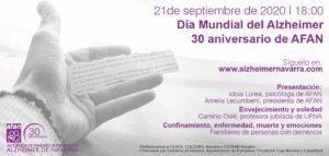 Imagen del cartel del evento en castellano