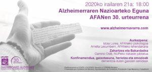 Imagen del cartel del evento en euskera