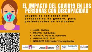 Imagen del cartel de los grupos de reflexión