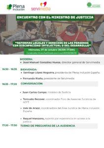 Imagen del programa del encuentro