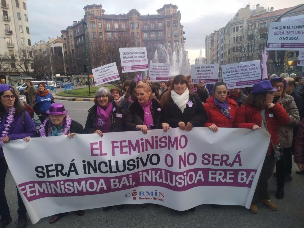 Imagen del archivo de CERMIN de la manifestación del 8M de 2020