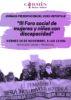 Imagen del cartel de las jornadas en castellano
