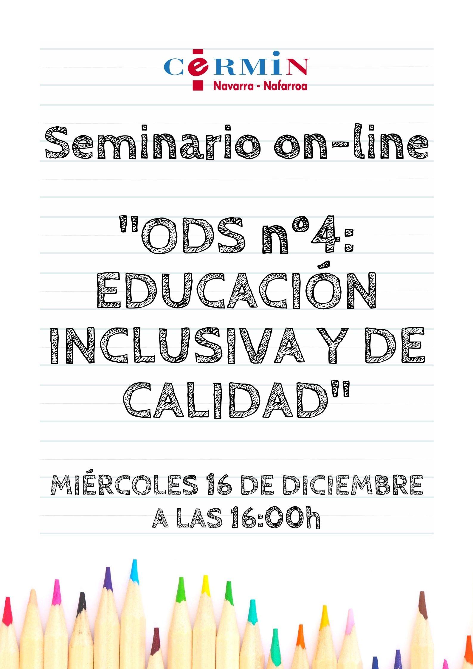 Imagen del cartel de la jornada en castellano