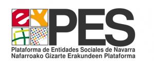 Logo plataforma de Entidades Sociales de Navarra. Ir a la web