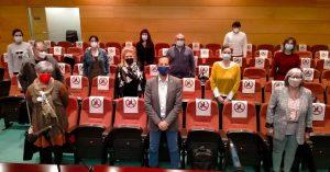 Foto de familia de los asistentes a la Asamblea