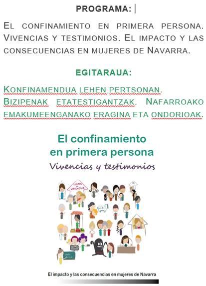 Imagen del cartel de la presentación del estudio