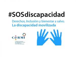 Logo de la campaña SOS discapacidad