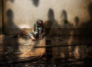 Imagen alusiva a la violencia contra la infancia
