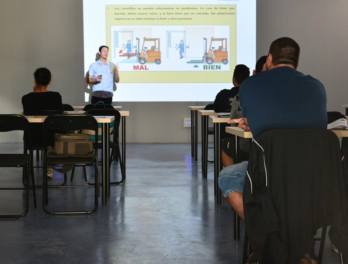Imagen de un aula de Formación Profesional