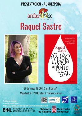 """Presentación libro de Raquel Sastre """"Risas al punto de sal"""". ANFAS Navarra"""