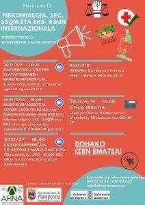 Imagen del programa de actividades en euskera