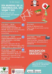 Imagen del programa de actividades en castellano