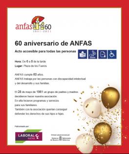 Celebración del 60 aniversario de ANFAS