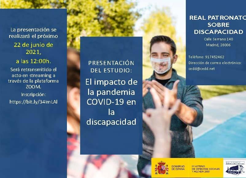 Imagen del cartel de la presentación