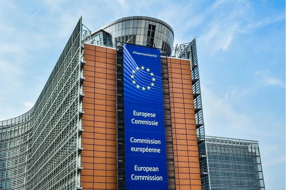 Imagen del edificio de la Comisión Europea