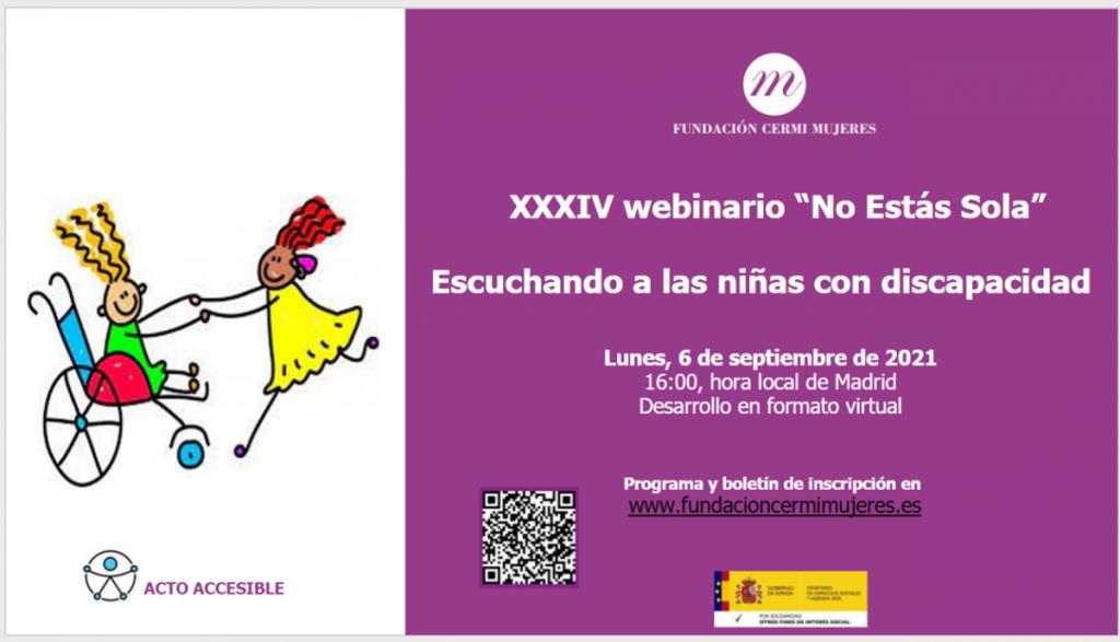 Imagen del cartel del webinario