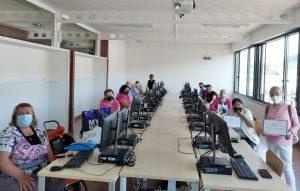 Imagen del taller sobre el uso de nuevas tecnologías