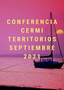 Cartel de la Conferencia CERMI Territorios celebrada en septiembre de 2021.