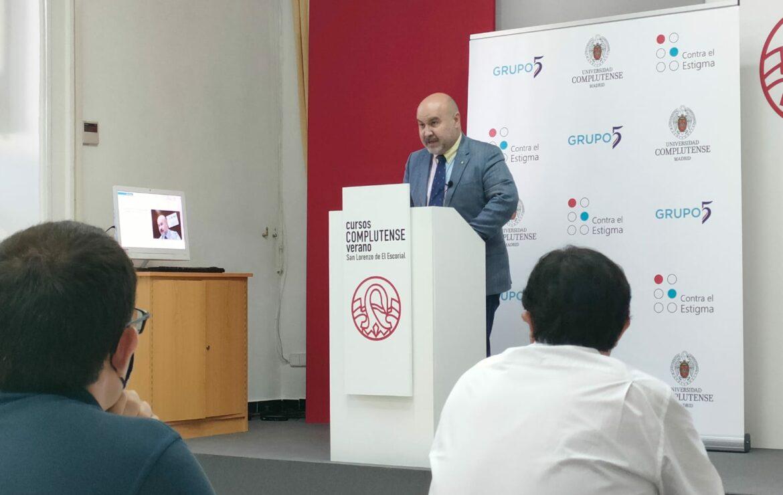 Imagen del Luis Cayo, presidente del CERMI Estatal